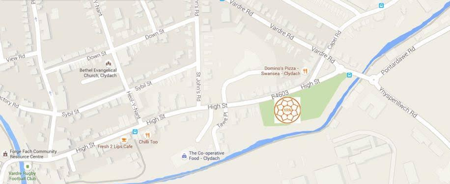 Yoga-Place-Abertawe-Map