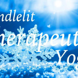 Christmas Candlelit Therapeutic Yoga – Abertawe